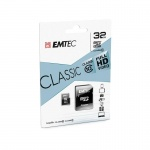 microSDHC 32GB Emtec Class 10 w/a (EU Blister), 2441140