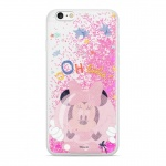 Disney Minnie 046 Glitter Back Cover Pink pro iPhone XR, 2442294