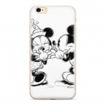 Disney Mickey & Minnie 010 Back Cover White pro Samsung J600 Galaxy J6 2018, 2442370