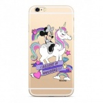 Disney Minnie 035 Back Cover Transparent pro Xiaomi Redmi 6/6A, 2442379
