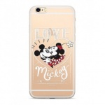 Disney Mickey & Minnie 002 Back Cover Transparent pro Xiaomi Redmi 6/6A, 2442390