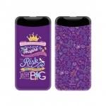 PowerBank 6000mAh Disney Princess 002 Violet 2.1A, 2442856