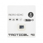 Tactical microSDHC 8GB Class 10 wo/a, 2443014