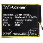 CS-MXT192SL Baterie 2800mAh Li-Pol pro Motorola Z3 Play, 2443277