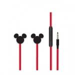 Disney Stereo Sluchátka 3.5mm Mickey Matt Black 3D, 2443432