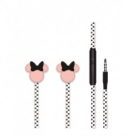 Disney Stereo Sluchátka 3.5mm Minnie Matt Black 3D, 2443443