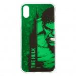 MARVEL Hulk 001 Zadní Kryt Green pro iPhone XS, 2443581