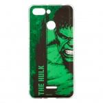 MARVEL Hulk 001 Zadní Kryt Green pro Xiaomi Redmi 6, 2443583