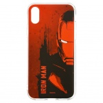 MARVEL Iron Man 004 Zadní Kryt Red pro iPhone X, 2443586