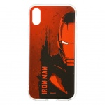 MARVEL Iron Man 004 Zadní Kryt Red pro iPhone XS, 2443588