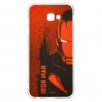 MARVEL Iron Man 004 Zadní Kryt Red pro Samsung J415 Galaxy J4+, 2443589