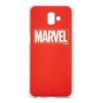 MARVEL 002 Zadní Kryt pro Samsung J610 Galaxy J6+ Red , 2443590
