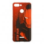MARVEL Iron Man 004 Zadní Kryt Red pro Xiaomi Redmi 6, 2443591