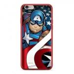 MARVEL Captain America 004 Zadní Kryt pro iPhone 7/8 Red, 2445156