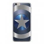 MARVEL Captain America 005 Zadní Kryt pro iPhone X Silver, 2445173