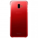 EF-AJ610CRE Samsung Gradation Clear Cover Red pro Galaxy J6+ (EU Blister), 2441265