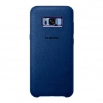 EF-XG955ALE Samsung Alcantara Cover Blue pro G955 Galaxy S8 Plus (EU Blister), 2435128