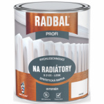 Radbal Profi S2120 speciální barva na radiátory, 1000 bílá, 600 ml