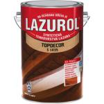 Lazurol Topdecor S1035 tenkovrstvá lazura na dřevo T025 třešeň, 4,5 l