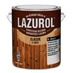 Lazurol Classic S1023 tenkovrstvá lazura na dřevo s obsahem olejů, 080 mahagon, 2,5 l