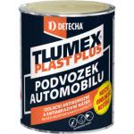 Tlumex Plast Plus antikorozní barva na auto a podvozek, černá, 0,9 kg