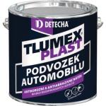 Tlumex Plast antikorozní barva na auto a podvozek, černá, 2 kg