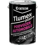 Tlumex Plast antikorozní barva na auto a podvozek, černá, 4 kg