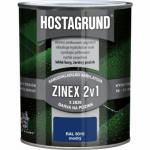 Hostagrund Zinex 2v1 S2820 barva na pozink, Ral 5010 enziánová modrá, 600 ml