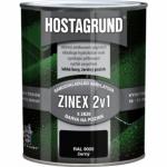 Hostagrund Zinex 2v1 S2820 barva na pozink, Ral 9005 černá, 600 ml