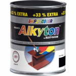 Dupli-Color Alkyton Mat, samozákladová barva na rez, Ral 9005 černá, 1 l