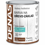DENAS NA DŘEVO–ZÁKLAD základní barva na dřevo, bílá, 0,7 kg