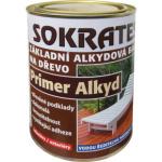 Sokrates Primer alkyd základní barva na dřevo a savé podklady, 0100 bílá, 800 g