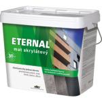 Eternal mat akrylátový univerzální barva na dřevo kov beton, 06 zelená, 10 kg