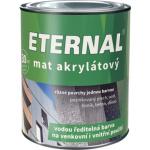 Eternal mat akrylátový univerzální barva na dřevo kov beton, 22 tmavě zelená, 700 g