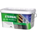 Eternal mat akrylátový univerzální barva na dřevo kov beton, 22 tmavě zelená, 5 kg