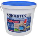 Sokrates Colour pololesk univerzální vrchní barva na dřevo a kov, 0100 bílá, 5 kg