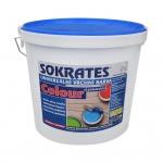 Sokrates Colour pololesk univerzální vrchní barva na dřevo a kov, 0603 slonová kost, 5 kg