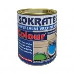 Sokrates Colour pololesk univerzální vrchní barva na dřevo a kov, 0750 oranžová, 0,7 kg