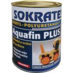 Sokrates Aquafin Plus Polomat základní a vrchní lak na dřevo do interiéru, 600 g
