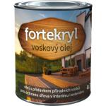 Fortekryl voskový olej pro ochranu dřeva bezbarvá, 0,7 kg