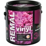 Remal Vinyl Color mat, prémiová malířská barva, omyvatelná, 340 šeříkově fialová, 3,2 kg
