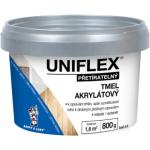 BARVY A LAKY HOSTIVAŘ Uniflex akrylátový tmel na zdivo, sádrokarton a dřevo, 800 g