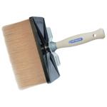 Spokar hranatá štětka Evo Profi, dřevěné nelakované držadlo, syntetická vlákna, 180 × 80 mm
