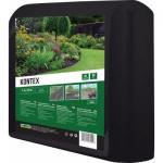 Nohel Garden Kontex, mulčovací netkáná textilie, černá, 1,6 × 10 metrů