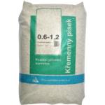 Křemenný písek pro pískové filtrace, 0,6 až 1,2 mm, 25 kg