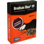Brodisan Blue PF voskové bloky k hubení hlodavců, 150 g