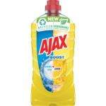 Ajax Boost Lemon univerzální čisticí prostředek, vůně citrón, 1 l