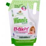 Madel Winnis Baby 2v1 hypoalergenní prací gel a aviváž, 16 praní, 800 ml