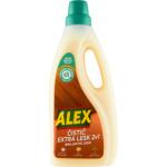 Alex Extra péče 2v1 s leskem, čistič dřevěných podlah, s kokosovým mýdlem, 750 ml