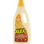 Alex Extra péče 2v1 s leskem, čistič dřevěných laminátových plovoucích podlah, s pomerančovou vůní, 750 ml